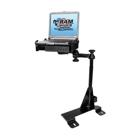 RAM Mount No-Drill Laptop Mount f/Ford Econoline Van (1995-2013) - Audiovideodirect