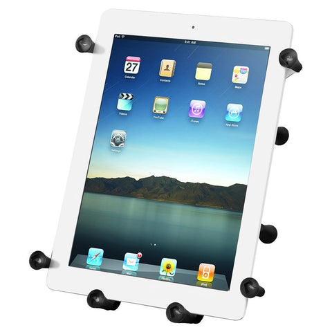 Ram Mount X-Grip III Universal Clamping Cradle for 10-Inch Large Tablets (RAMHOLUN9U - Audiovideodirect