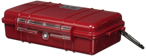 Pelican 1060 Water resistant, Crushproof & Dustproof Micro Case with Clear Lid - Audiovideodirect