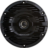 "Kenwood KFC1653MRB High Quality 6.5"" Marine Boat Yacht Outdoor Stereo Speaker - Audiovideodirect"