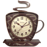 Westclox 32038 Coffee Time 3-D Wall Clock - Audiovideodirect