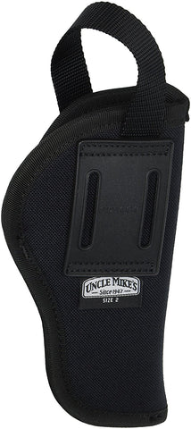 "Uncle Mike's Kodra Nylon Black Sidekick Hip Holster 3""-4"" Barrel 81012"