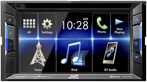 "JVCM 6.2"" Clear Resistive Touchscreen Double-DIN In-Dash AM/FM DVD Receiver - Audiovideodirect"
