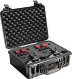 Pelican 1520-000-110 Watertight Case with Automatic Pressure Equalization Valve - Audiovideodirect