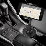 Macally MCUP Adjustable Cup Holder for iPhone, iPod, Smartphones, MP3 and GPS - Black - Audiovideodirect
