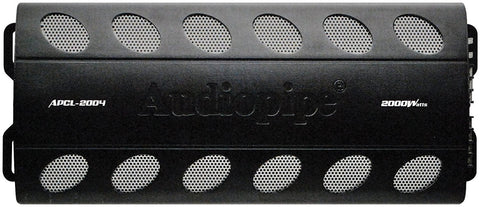 AudioPipe APCL2004 4-Channel 2000W Black Electronics Audio Max Amplifier - Audiovideodirect