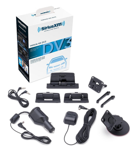 SiriusXM Satellite Radio  with Dock and Charging Cable - Audiovideodirect