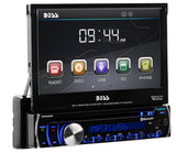 "Boss Audio 7"" Touchscreen Single-DIN in-dash DVD receiver with Bluetooth - Audiovideodirect"