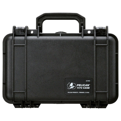 Pelican Carrying Case for Multi-Purpose, Black (1170-000-110) - Audiovideodirect