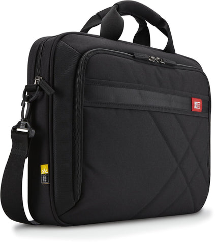 Case Logic DLC-115 15.6-Inch Laptop and Tablet Briefcase (Black) - Audiovideodirect