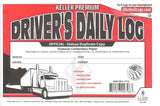J.J.Keller Duplicate Copy Driver's Daily Log Book Carbonless Pack of 10 - Audiovideodirect