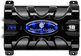 Planet Audio PC10F Digital voltage display Digital Capacitor Blue Illumination - Audiovideodirect