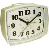 Electric Alarm Clock with Constant Lighted Dial - Audiovideodirect