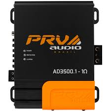 PRV Audio AD3500.1 1Ohm Amplifier 3600w RMS High Efficiency Car Amplifier - Audiovideodirect