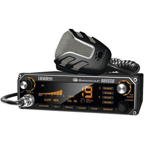 Uniden BEARCAT980SSB 4 watt 40-channel AM CB Radio with AM and 980 SSB CB 2-Way - Audiovideodirect