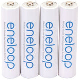 Panasonic BK-4MCCA4BA 800mAh eneloop 2,100x Rechargeable AAA 4 pk Batteries - Audiovideodirect