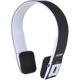 NEW SYLVANIA Wireless 2.1 Bluetooth Stereo Headphones with Microphone -Black - Audiovideodirect