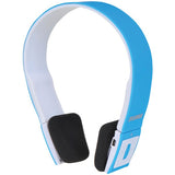 NEW SYLVANIA Wireless 2.1 Bluetooth Stereo Headphones with Microphone -Blue - Audiovideodirect