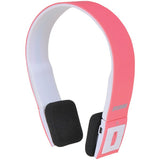 NEW SYLVANIA Wireless 2.1 Bluetooth Stereo Headphones with Microphone -Pink - Audiovideodirect