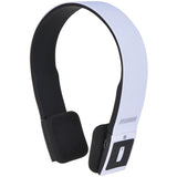 NEW SYLVANIA Wireless 2.1 Bluetooth Stereo Headphones with Microphone -White - Audiovideodirect