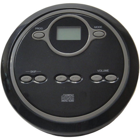 Sylvania Black Personal Compact CD Player with LCD Display SCD300 - Audiovideodirect