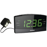 "SYLVANIA SCR1989BT LED display 1.8"" Jumbo Digit Alarm Clock Radio with Bluetooth"