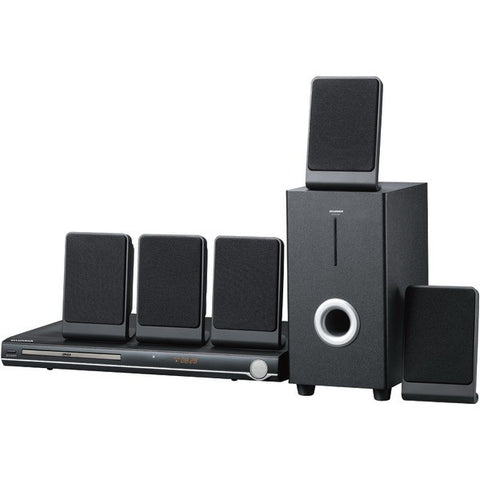 Sylvania SDVD5088 5 Satellites 5.1-Channel DVD Home Theater System with remote