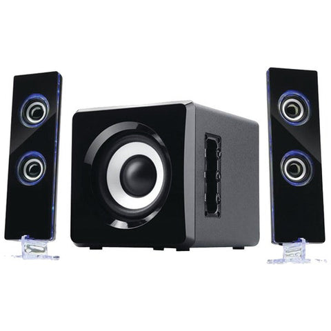 Sylvania SHTIB1046-BT Bluetooth® Speaker System with LED indicators - Audiovideodirect