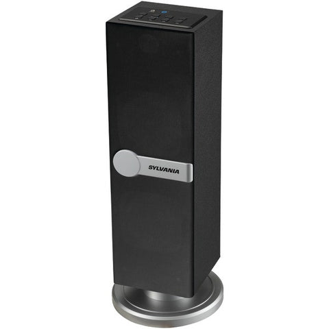Sylvania SP269 Bluetooth® Mini Tower Speaker with 3.5mm aux input