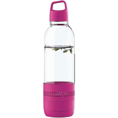 SYLVANIA SP650-PURPLE Water Bottle with Integrated Bluetooth® Speaker -Purple - Audiovideodirect
