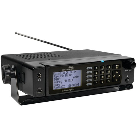 Whistler WS1098 Digital Desktop/Mobile Radio Scanner with Full USB Interface - Audiovideodirect
