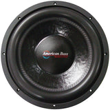 "AMERICAN BASS XFL1244 12"" 2000w Car Audio Speaker Subwoofer SubWoofer 2000 Watt - Audiovideodirect"