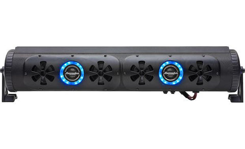 "Bazooka BPB24 24"" Bluetooth Party Bar Off Road Sound Bar and LED Illumination System - Audiovideodirect"