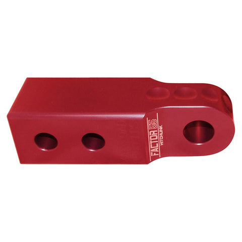 "Factor55 Hitchlink 2.0 (2"" Receivers) Red - Audiovideodirect"