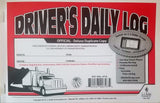 JJ Keller Driver's Daily Log Book 8527/601L Monthly Log Summary Set 10 - Audiovideodirect