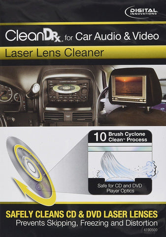 Digital Innovations CleanDr for Car Audio & Video Laser Lens Cleaner 4190500 - Audiovideodirect
