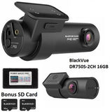 BlackVue Dashcam Ultra Wide Viewing Angle with 16GB MicroSD Card DR750S-2CH - Audiovideodirect