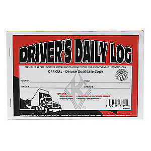 J.J. Keller 8527 Duplicate Driver's Daily Log Books with Carbon 601L - Audiovideodirect