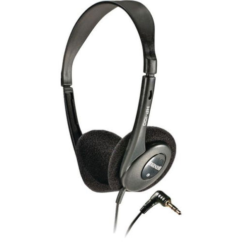 Maxell Black Lightweight Stereo Headphones MXL190319 - Audiovideodirect