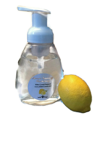 Lemon Foaming Hand Soap - Elite Creed Natural