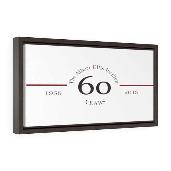 Anniversary Horizontal Framed Premium Gallery Wrap Canvas