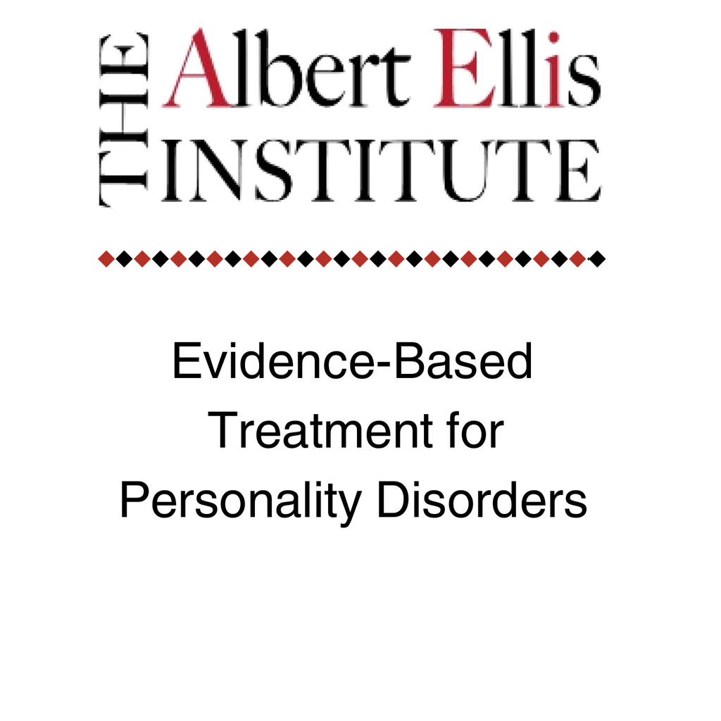 Evidence-Based Treatment for Personality Disorders - 10-18-19