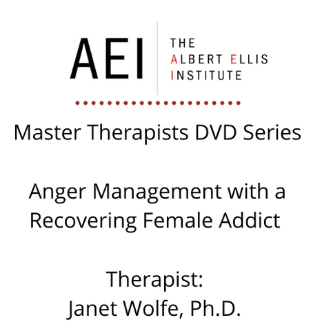 Anger Management with a Recovering Female Addict - DVD