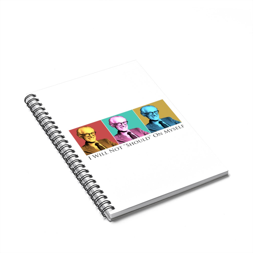 Albert Ellis Spiral Notebook - Ruled Line