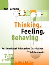 Thinking, Feeling, Behaving: An Emotional Education Curriculum for Adolescents, Grades 7-12 (Book and CD)