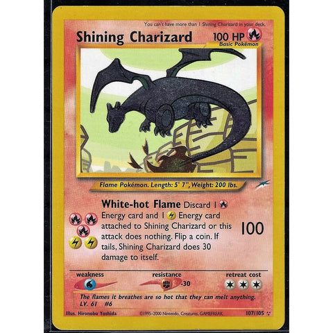 Shining Charizard Pokemon Card - The Frugal Dutchman