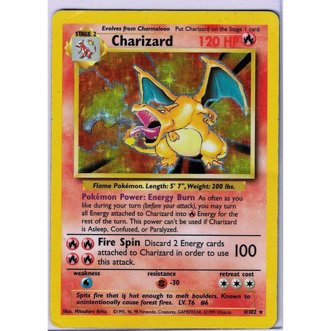 Charizard Holographic - The Frugal Dutchman