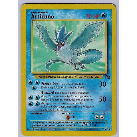 Articuno - The Frugal Dutchman