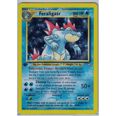 Feraligatr 1st Edition
