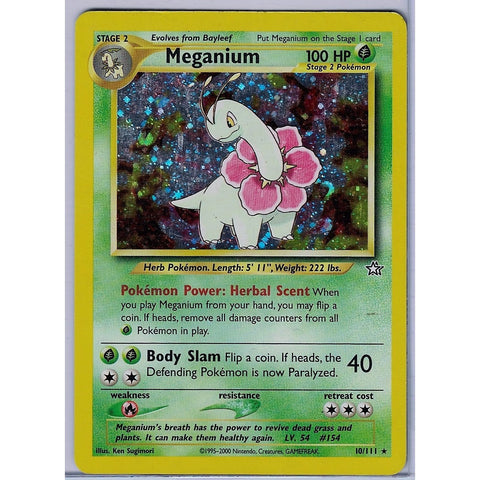 Meganium Holographic - The Frugal Dutchman